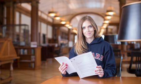 Chiara Ferragni professoressa ad Harvard: la blogger sale in cattedra