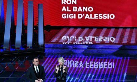"""Sanremo, eliminati Al Bano, D'Alessio, Ferreri e Ron. Crozza attacca Renzi: """"Cos'è rimasto dei suoi tre anni?"""""""