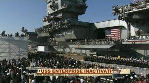 Enterprise addio: portaerei nucleare Usa in pensione, ma il mito resiste