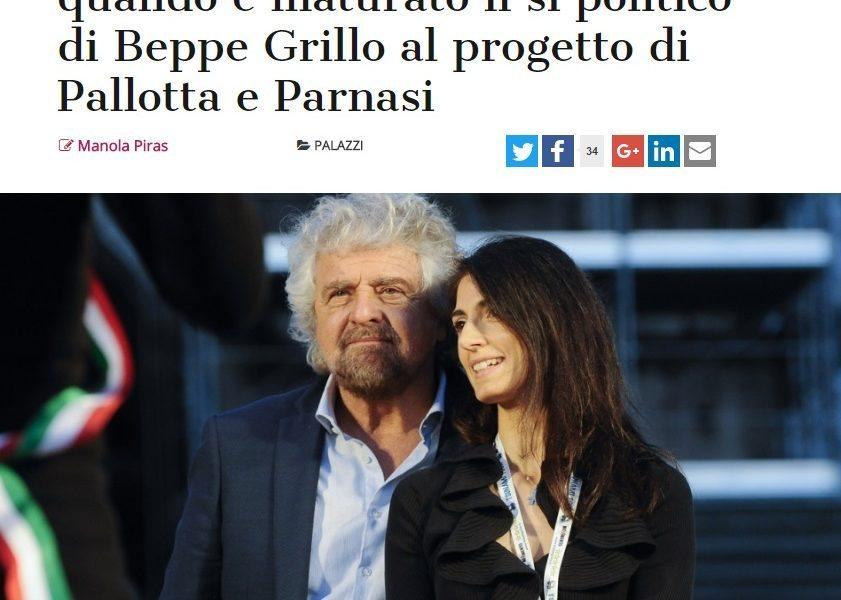 """Stadio della Roma: """"Ecco quando Beppe Grillo ha detto sì a Pallotta e Parnasi"""""""