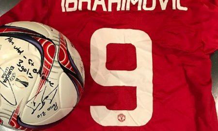 Manchester United, De Gea si congratula così con Ibrahimovic FOTO