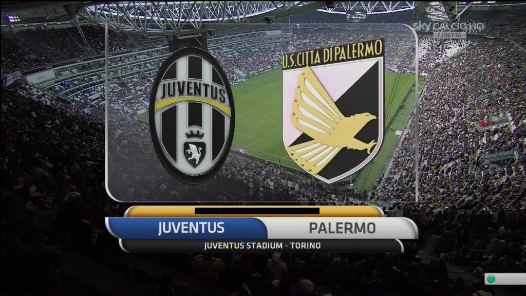 Juventus-Palermo streaming - diretta tv, dove vederla