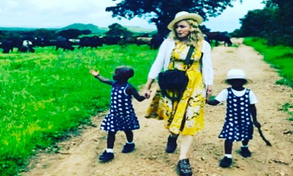 Madonna conferma due nuove adozioni in Malawi su Instagram