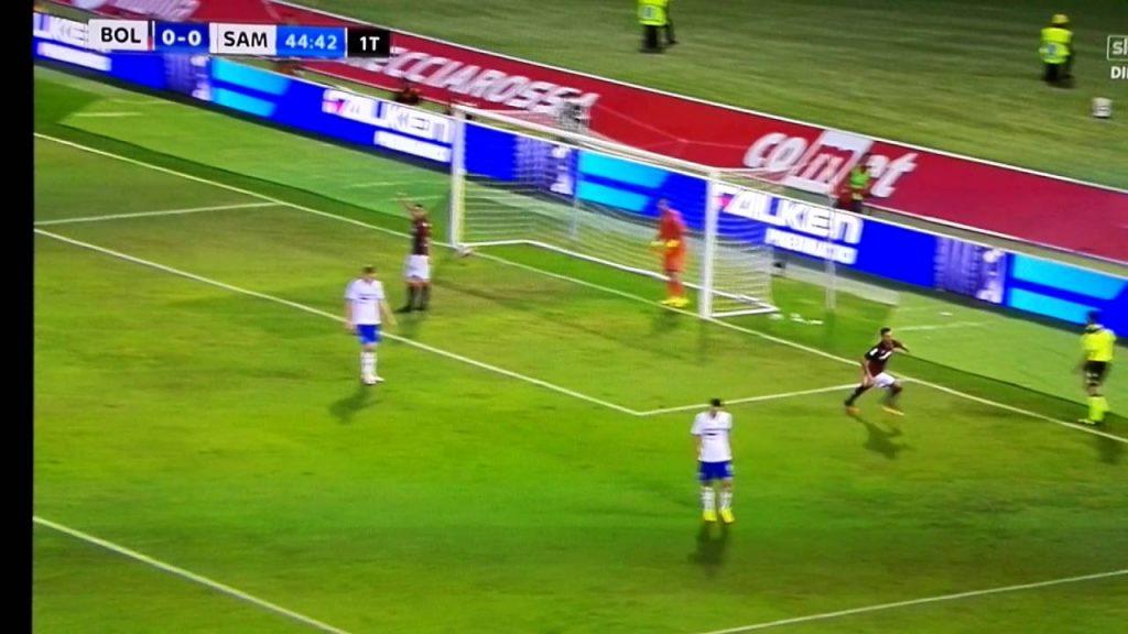 Sampdoria-Bologna 3-1, un rigore inesistente lancia la rimonta blucerchiata
