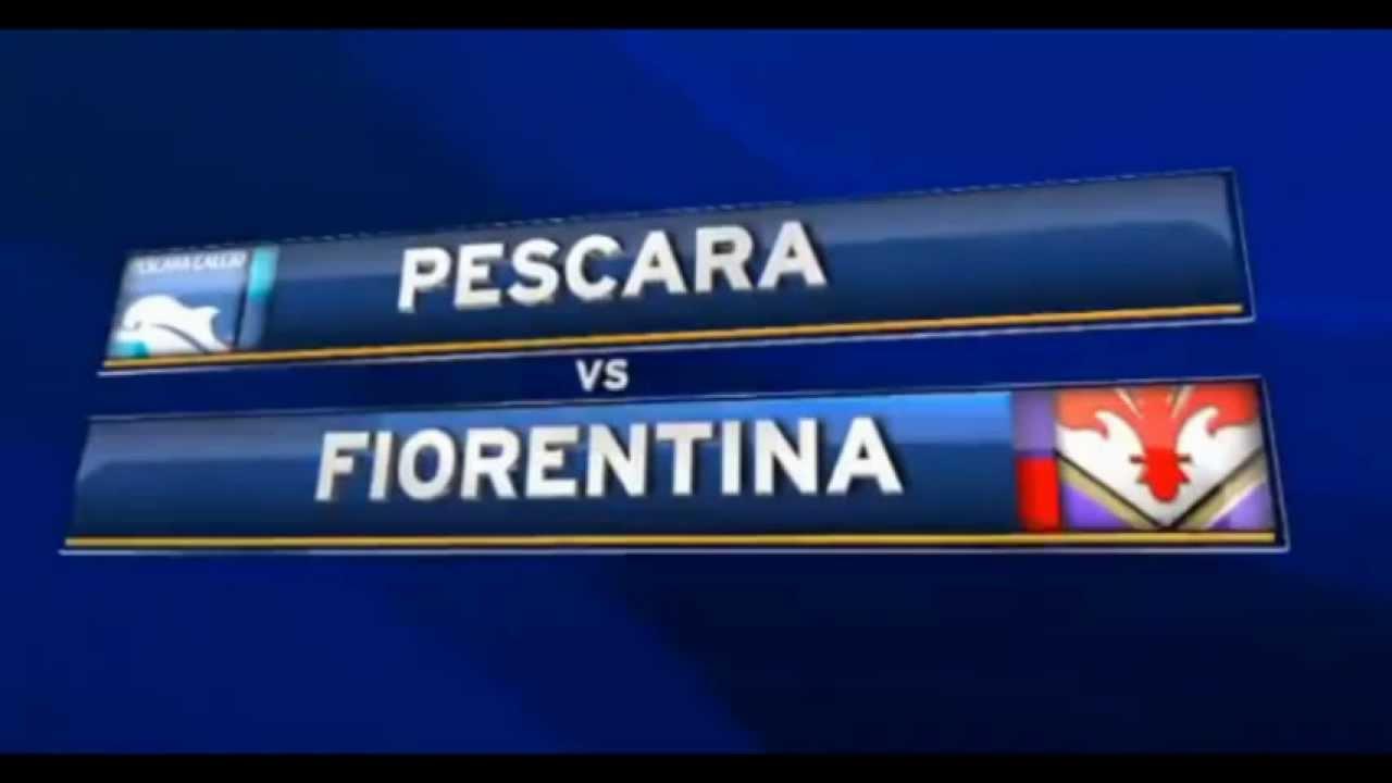 Serie A Pescara Fiorentina – Live dalle 20 45