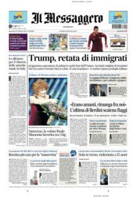 Giornali, vendite dicembre 2016 in caduta: Libero -26%, Sole -25, Giornale -15. Stabile Corriere, cala Repubblica e Stampa, sale il Fatto ma
