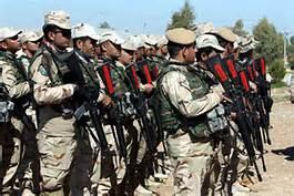 Miliziani cristiani iracheni