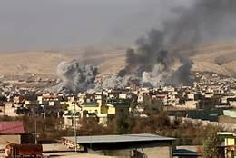 Mosul sotto le bombe