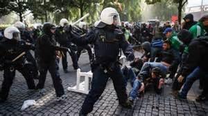 Gli scontri in Svezia