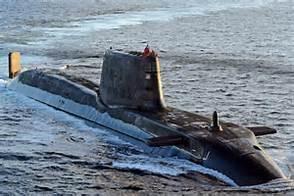 Un sottomarino nucleare britannico