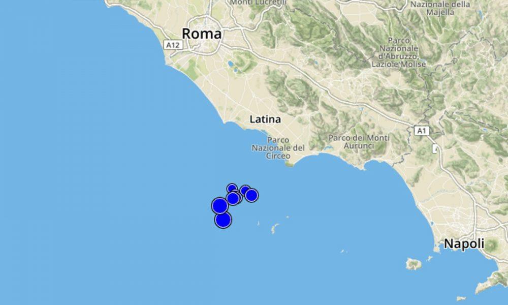 Ponza / Sette scosse di terremoto, paura sulla costa del Lazio Meridionale