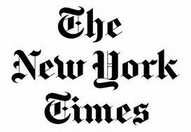 La testata del New York Times