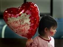 Bimbo festeggia San Valentino