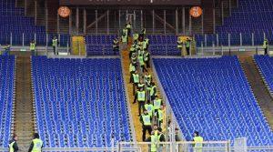 Roma-Lazio senza barriere in Curva: iniziati lavori. Comune pensa alle standing area