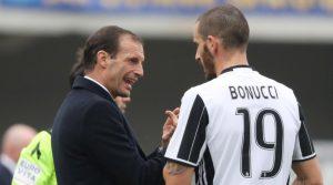 Juventus, se Allegri resta parte Bonucci: su difensore c'è il Chelsea