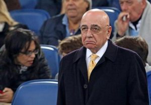 "Juventus-Milan, Galliani: ""Squalifica Bacca? No comment"""