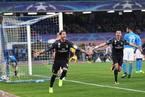 Napoli eliminato dalla Champions, Sergio Ramos gela il San Paolo