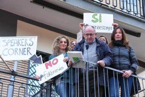 """Giornalisti Ansa da Fiorello: """"Salviamo le agenzie di stampa"""""""