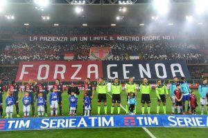 Genoa-Sampdoria 0-1 (VIDEO-FOTO): striscioni, coreografie, fuochi artificio