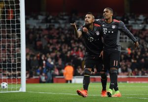 Arsenal-Bayern Monaco 1-5 highlights Champions, Vidal doppietta