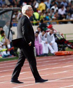 Marcello Lippi, Cina ko a Teheran: Mondiali più lontani