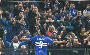 Sampdoria in paradiso, Muriel decide nuovamente il derby