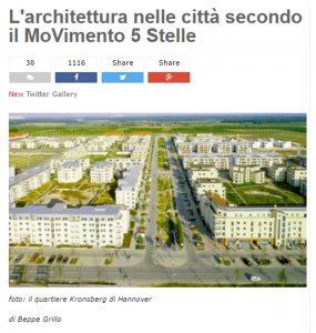 """Stadio Roma, Beppe Grillo: """"M5s ha una visione innovativa per Roma"""""""