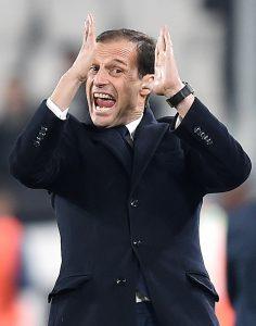 """Juventus, Allegri: """"Lo scudetto non è ancora in tasca...Milan sornione"""""""