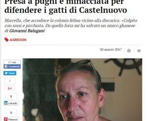 L'articolo pubblicato da La Gazzetta di Modena