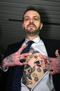 """Paul Baccaglini, subito tatuaggio Palermo: """"Vicino al cuore"""" (FOTO)"""