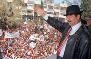 Saddam Hussein (foto Ansa)