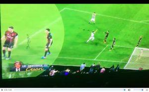 Juventus-Milan 2-1, rigore non c'era: video con la sentenza di Cesari