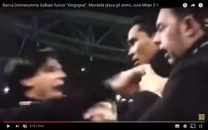 Juventus-Milan 2-1, rissa finale: Bacca (VIDEO) rischia grosso
