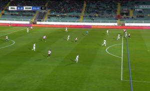 Nestorovski: video-foto gol annullato Palermo-Roma 0-3