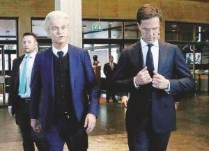 Elezioni in Olanda, scontro Wilders-Rutte: il primo test sulla tenuta della Ue