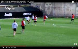 Valencia, Simone Zaza segna gol magnifico in allenamento (VIDEO)