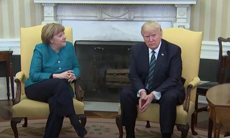 Trump e Merkel, incontro teso: distanti sui migranti. E stretta di mano negata FOTO-VIDEO
