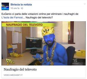 """Isola dei Famosi, Striscia la Notizia: """"Televoto truccato?"""""""