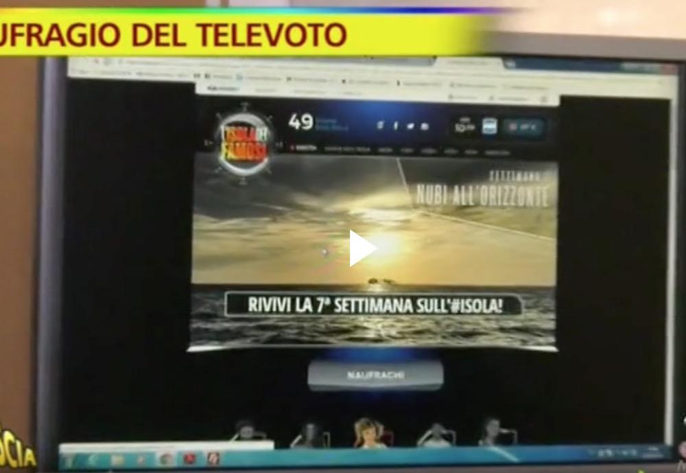 L' Isola dei Famosi: Giulio, Malena e Samantha al televoto