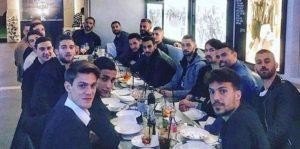 La Nazionale Italiana a cena da Luciano Spalletti (FOTO)