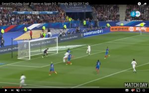 YouTube, Gerard Deulofeu gol in Francia-Spagna 0-2 (VIDEO)