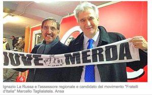 """Marcello Taglialatela: """"Ho detto Juve m... non torno indietro"""""""