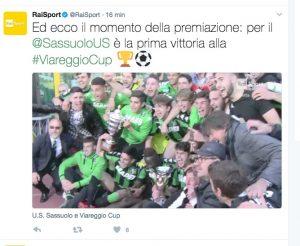 Viareggio Cup, Sassuolo trionfa su Empoli ai rigori: Scamacca decisivo