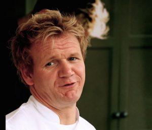 "Gordon Ramsay: ""Mai mangiare sugli aerei"""