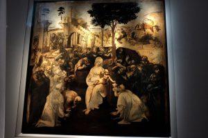 L'Adorazione dei Magi di Leonardo torna al suo antico splendore agli Uffizi