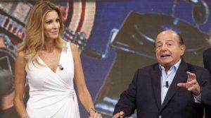 Adriana Volpe e Giancarlo Magalli in lite: lo scontro continua sui social