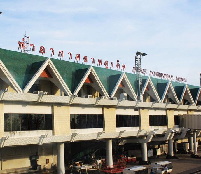 L'aeroporto di Phuket