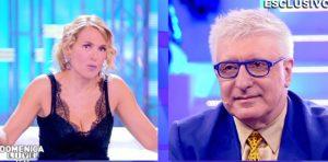 """Domenica Live, Alberico Lemme a Mery Segneri: """"Ora che hai perso 65 kg sei..."""""""