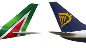 Alitalia contro gli incentivi regionali alle low cost. Gli 80 milioni a Ryanair