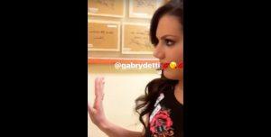 Antonella Fiordelisi e Gabriele Detti (VIDEO-FOTO): che feeling alla Domenica Sportiva